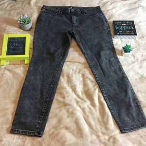 Faded Glory Size 16 Black Jeans